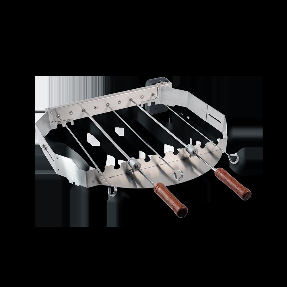 Turnado Set für 57/60cm Kugelgrills - elektrischer Spießdreher