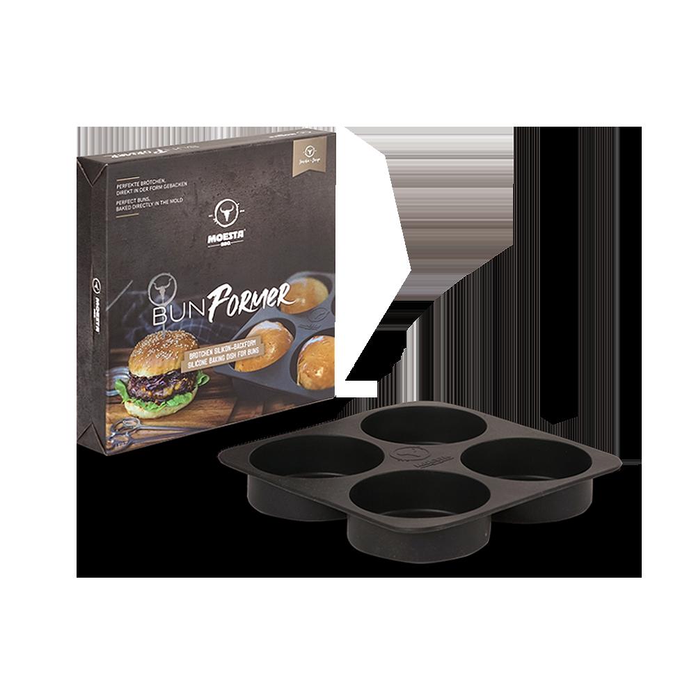 BunFormer - Die Silikonbackform für Burgerbrötchen
